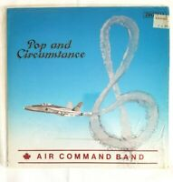 Pop and Circumstances Air Command Band Canada 1984 Military Big Band Vintage LP