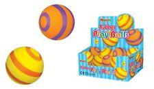 Bulk Wholesale Job Lot 48 Stripey Rubber Play Balls Toys