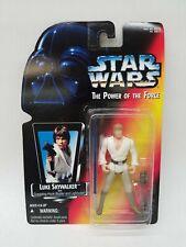 """Star Wars POTF2 3.75"""" Luke Skywalker with w/ grappling hook 1995 free ship"""