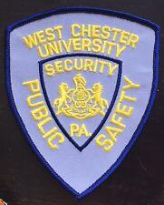 Vintage West Chester University Police  Shoulder Patch Flash USA Pennsylvania