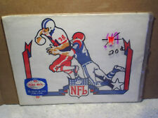 NFL PLACE MATS Football Running Back SEALED,Rare,Vintage,c.a.reed,tackle,#38,48