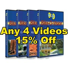 Bike-O-Vision 4  BLU-RAY Cycling Discs 15% OFF