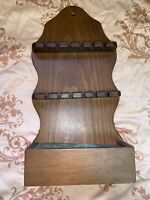 "Vintage Wood Spoon Display Shelf 14.5"" Tall x 7 1/4"" Wide"
