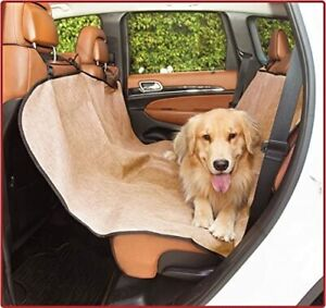 Dog Car Seat Cover Waterproof with bag Rear Bench Seat Protector Universal Auto
