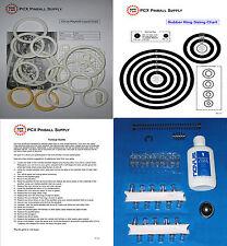 1980 Brunswick Circus Pinball Machine Tune-up Kit - Includes Rubber Ring Kit!
