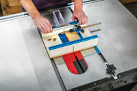 Rockler Table Saw Small Parts Sled 305 x 394 x 89mm (12'' x 15-1/2'' x 3-1/2'')