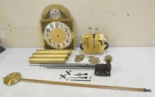 HERSCHEDE Jauch Grandfather Clock Set MOVEMENT DIAL PENDULUM WEIGHTS CHIMES