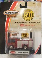 Matchbox 50th Anniversary 1998 DENNIS SABRE Red '98 FIRE TRUCK (10C)