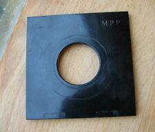 genuine MPP mk7 & 6 VII lens board panel 39.3mm copal 1 hole