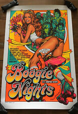 Boogie Nights Movie Poster Rockin Jelly Bean Mondo Sexy Art Paul Thomas Anderson