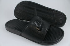 NIKE BENASSI JDI TRIPLE BLACK/BLACK SPORT SANDALS SLIDES SWOOSH US MENS SIZES