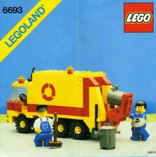 LEGO Town Refuse Collection Truck (6693) (Vintage)