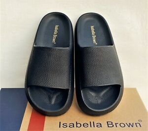 Isabella Brown comfort footbed scuff slides Isabella Brown Airy