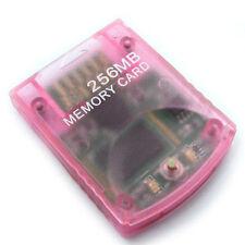 Carte Mémoire générique  256  MO  POUR NINTENDO WII/  GAMECUBE memory card