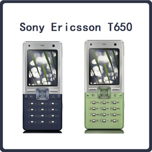 Original Sony Ericssion Mobile T650 T650i 1.9 In 3.15MP Camera 3G FM Radio Java