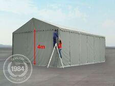 XXL 6x12 M Lagerhalle PVC grau Einfahrtshöhe 4 Meter