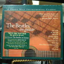 """THE BEATLES ON GUITAR JACK JEZZRO CD """"LET IT BE"""" """"HEY JUDE""""  """"YESTERDAY"""""""