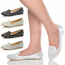 Flat (less than 0.5') Evening Textile Shoes for Women