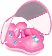 Baby Swimming Pool Float Removable UPF 50+ UV Sun Protection Canopy,Toddler