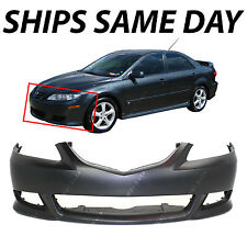 NEW Primered - Front Bumper Fascia Replacement for 2003-2005 Mazda 6 Sport 03-05