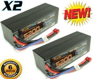 Powerhobby 4S 5200mAh 50C Lipo Battery Deans HardCase (2) : MUGEN MBX7R ECO