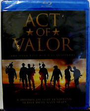 Act of Valor (Blu-ray, 2017) Real Seal Team Members - BRAND NEW/FACTORY SEALED