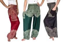 New Harem Pants, Baggy One Size Hippie Pants, Unisex,Yoga, Maternity, Boho