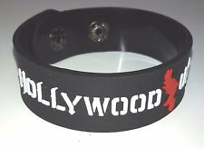 NEW HOLLYWOOD UNDEAD RUBBER BRACELET WRISTBAND UNISEX WHITE SOUVENIRS DAY WB8