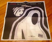 DOLDRUMS THE AIR CONDITIONED NIGHTMARE promo poster SUB POP