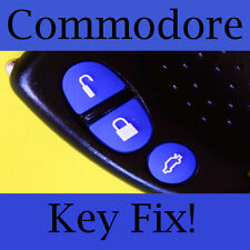 Holden Commodore Key Buttons VS VT VX VY VZ Blue Set