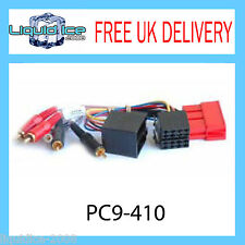 PC9-410 PORSCHE 911 BOXSTER 1997 ONWARDS AMPLIFIED RCA TO ISO ADAPTOR LEAD