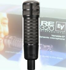 Electro-Voice RE320 Microphone ~ BEST DEAL ~ EV RE-320 FREE MIC CABLE +FAST SHIP