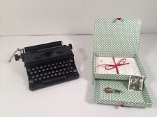 American Girl Doll Kit Typewriter Set Paper Box Photo Eraser Retired