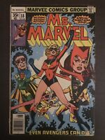 Ms Marvel #18 1978 first printing original Marvel Comic 1st Mystigue appearance
