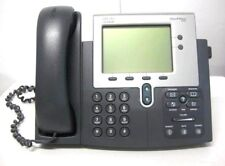 Lot of 10 CISCO Unified IP Phone 7942 Two Lines CP-7942G with Handset POE