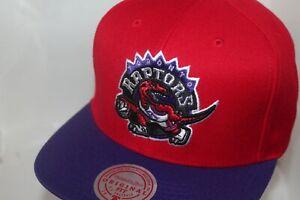 Toronto Raptors Mitchell & Ness NBA Wool 2-Tone Snapback,Hat,Cap       NEW