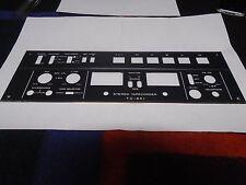 SONY TC-651 REEL TO REEL CONTROL PANEL P/N 3-142-868 USED