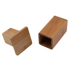 Bamboo Toothpick Box With Lid Square Toothpick Containers Table Tool SA