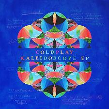 "Coldplay LP Kaleidoscope EP Blue Vinyl 1st Pressing Pro SHT Poster Mp3 12"""