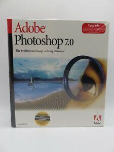 Adobe Photoshop 7.0 for Windows UPGRADE Version NEW SEALED