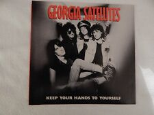 "Georgia Satellites "" Keep Your Hands To Yourself"" PICTURE SLEEVE! BRAND NEW!"