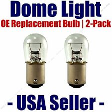 Dome Light Bulb 2-Pack OE Replacement - Fits Listed Plymouth Vehicles - 1004