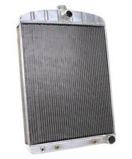 Griffin Universal Rat Rod Radiator w/ Automatic Transcooler 19x27.5 TCBL 1-70213
