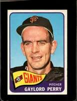 1965 TOPPS #193 GAYLORD PERRY EX GIANTS HOF  *X00660