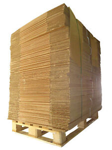 """STRONG LARGE DOUBLE WALL Cardboard House Removal Moving Boxes 20"""" x 20"""" x 20"""""""