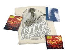 """Peter Frampton Best of FCA!35 Tour CD, DVD, 2XL T-Shirt """"A Walk in My Shoes"""" Aut"""