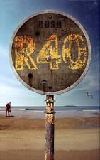 Rush: R40 (Blu-ray Disc, 2014, 6-Disc Set)