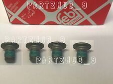 Brake Disc Rotor to Hub Set Screw Febi Bilstein for Mercedes - Pack of 4  #21663