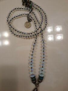 Masha Archer Signed Opalite Necklace San Francisco Excellent!