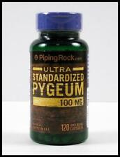PYGEUM Standardized Extract 12.5% Phytosterols 100 mg PROSTATE Bark 120 Capsules